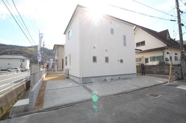 岡山県岡山市東区瀬戸町光明谷の新築 一戸建て 分譲住宅の外観写真