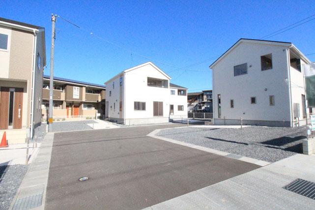 岡山県倉敷市北畝の新築 一戸建て 分譲住宅の外観写真