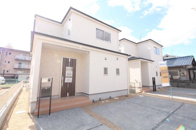 岡山県岡山市中区海吉の新築 一戸建て 分譲住宅の外観写真