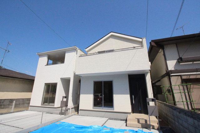 岡山県岡山市北区平野の新築 一戸建て 分譲住宅の外観写真