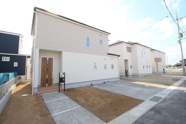 岡山県瀬戸内市邑久町豊安の新築 一戸建て 分譲住宅の外観写真