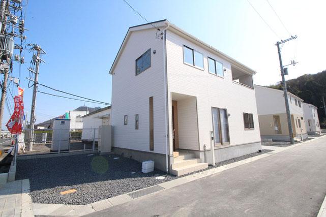 岡山県岡山市南区宗津の新築 一戸建て 分譲住宅の外観写真