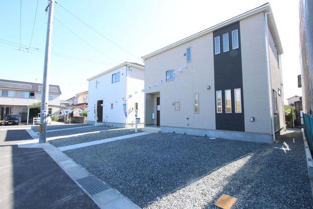 岡山県岡山市東区金岡東町の新築 一戸建て 分譲住宅の外観写真