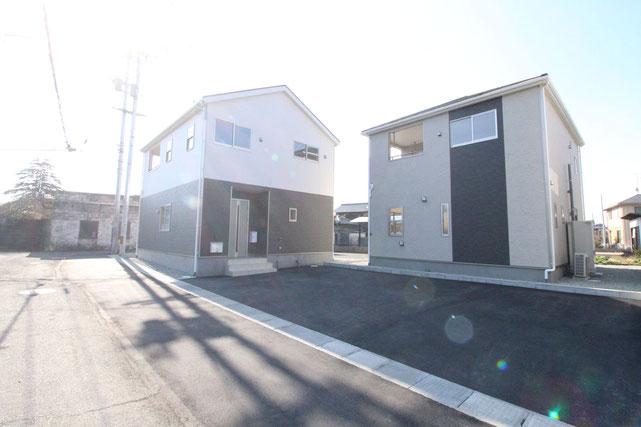 岡山県倉敷市児島唐琴4丁目の新築 一戸建て 分譲住宅の外観写真