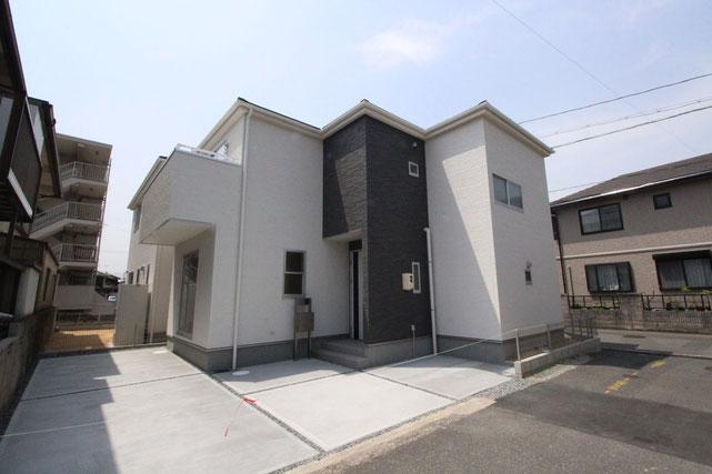 岡山県倉敷市東塚3丁目の新築 一戸建て 分譲住宅の外観写真