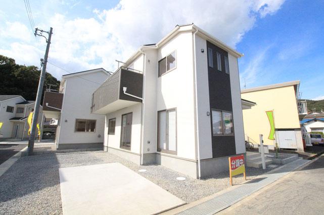 岡山県岡山市北区宿の新築 一戸建て 分譲住宅の外観写真