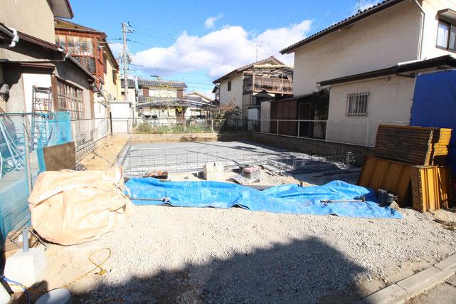 岡山県倉敷市西阿知町新田の新築 一戸建て 分譲住宅の外観写真