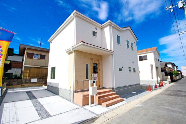 岡山県岡山市中区清水の新築 一戸建て 分譲住宅の外観写真