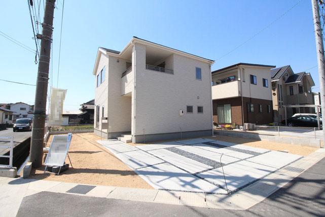 岡山県倉敷市中畝2丁目の新築 一戸建て 分譲住宅の外観写真