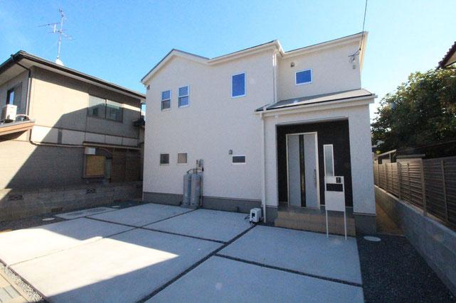 岡山県岡山市南区妹尾の新築 一戸建て 分譲住宅の外観写真