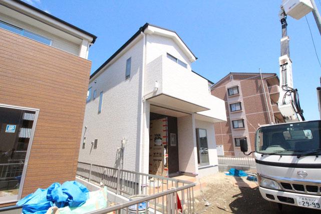 岡山県岡山市中区江並の新築 一戸建て 分譲住宅の外観写真