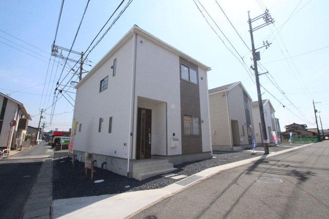 岡山県倉敷市連島町連島の新築 一戸建て 分譲住宅の外観写真
