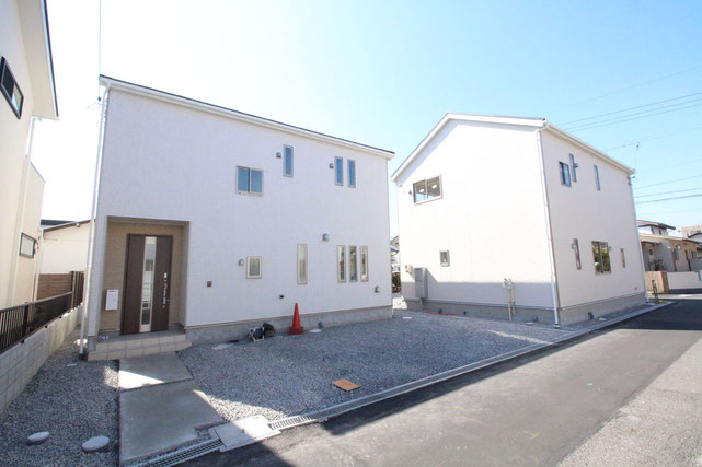 岡山県岡山市南区南輝の新築 一戸建て 分譲住宅の外観写真