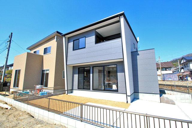 岡山市北区目黒町の新築 一戸建て 分譲住宅、ガーブタウン目黒町の外観写真