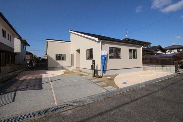 岡山県赤磐市桜が丘西7丁目の新築 一戸建て 分譲住宅の外観写真