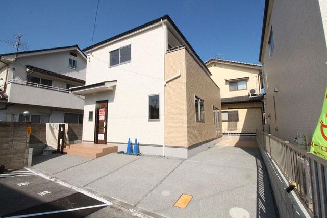 岡山県岡山市南区福島3丁目の新築 一戸建て 分譲住宅の外観写真