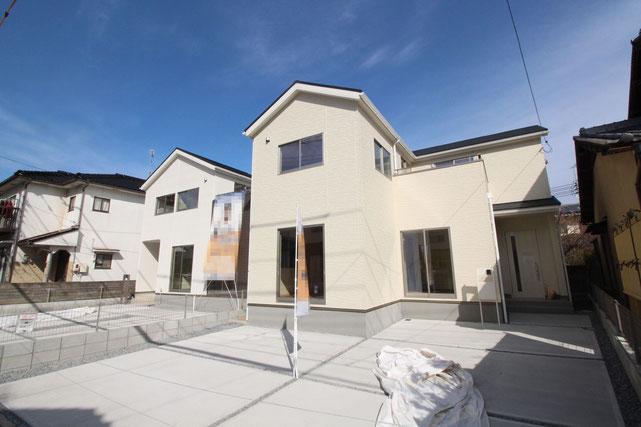 岡山県岡山市中区原尾島の新築 一戸建て 分譲住宅の外観写真