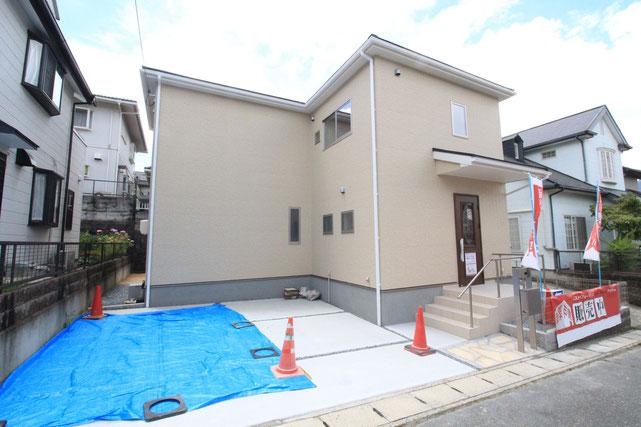 岡山市東区城東台東の新築 一戸建て 分譲住宅の外観写真