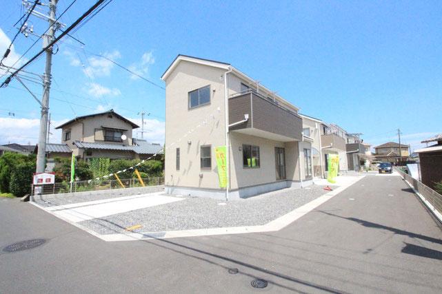 岡山県岡山市東区広谷の新築 一戸建て 分譲住宅の外観写真