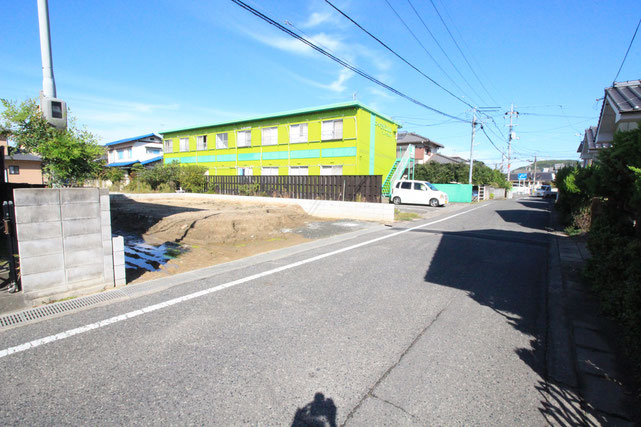 岡山県岡山市北区庭瀬の新築 一戸建て 分譲住宅の外観写真