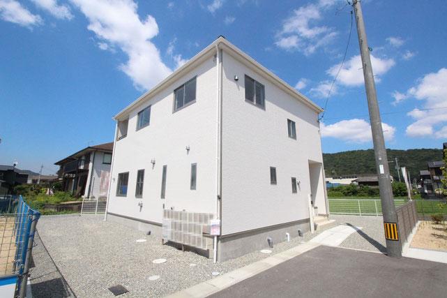 岡山県倉敷市林の新築 一戸建て 分譲住宅の外観写真