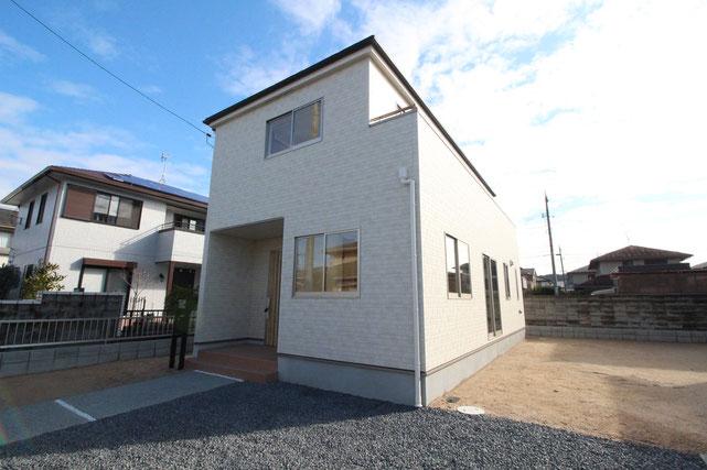 岡山県赤磐市桜が丘西4丁目の新築 一戸建て 分譲住宅の外観写真