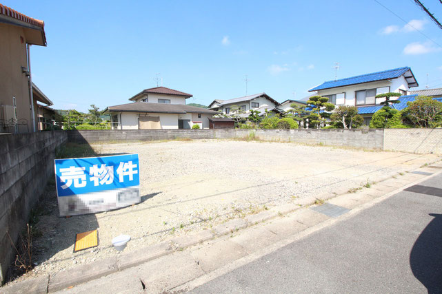 岡山県岡山市北区一宮の新築 一戸建て 分譲住宅の外観写真