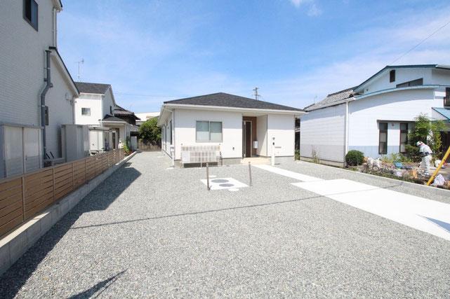 岡山県瀬戸内市長船町福里の新築 一戸建て 分譲住宅の外観写真