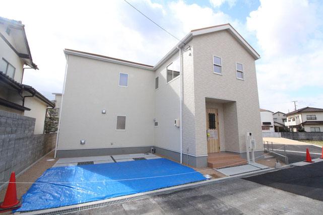 岡山県倉敷市安江の新築 一戸建て 分譲住宅の外観写真