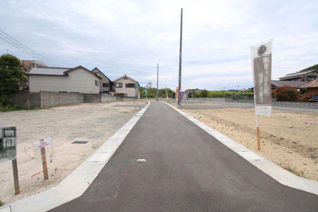 岡山県倉敷市児島味野の新築 一戸建て 分譲住宅の外観写真