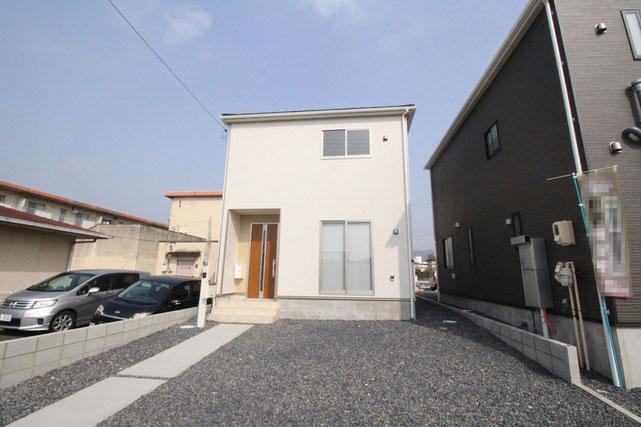 岡山県岡山市中区神下の新築 一戸建て 分譲住宅の外観写真