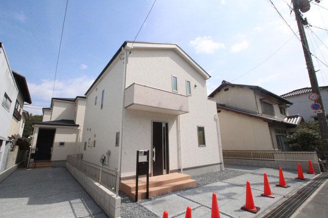 岡山県玉野市玉6丁目の新築 一戸建て 分譲住宅の外観写真