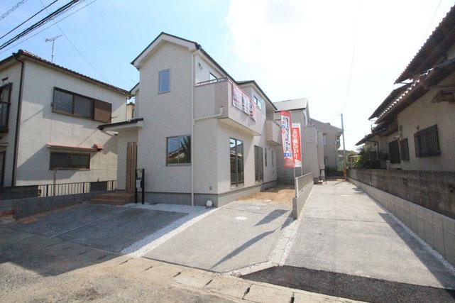 岡山県岡山市中区高島新屋敷の新築 一戸建て 分譲住宅の外観写真