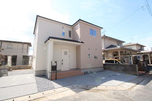 岡山県岡山市中区土田の新築 一戸建て 分譲住宅の外観写真