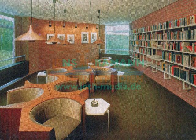 Ruhe und Entspannung fand man in der Bibliothek