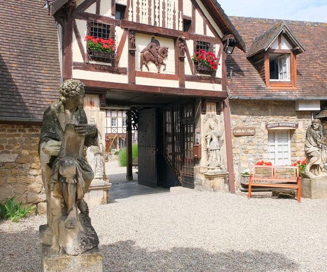Village d'art Guillaume le Conquérant Dives-sur-Mer