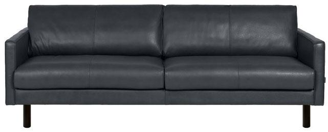 Einzelsofa, Ledersofa, Mid-Century Sofa, Vintage Sofa, Retro Sofa