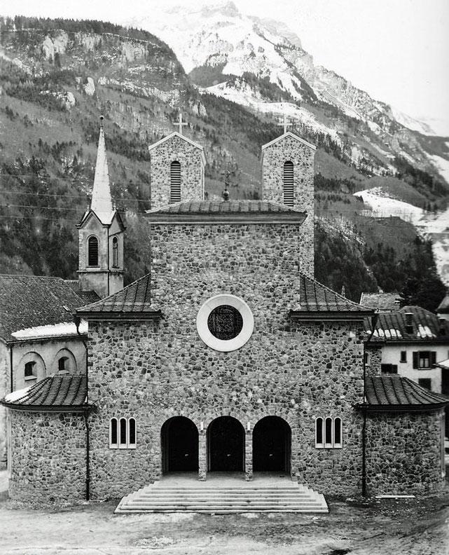 Grosse Kapelle und neue Kirche 1935