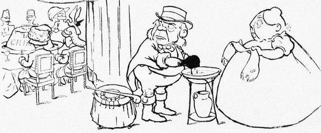 La curée. John Grand-Carteret (1850-1927) : Chinois d'Europe et Chinois d'Asie. 175 images satiriques, pour servir à l'histoire des chinoiseries de la politique européenne de 1842 à 1900.