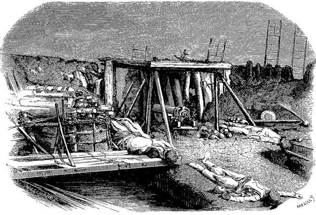Forts du nord. Armand LUCY : Lettres intimes sur la campagne de Chine en 1860. Jules Barile, Marseille, 1861.