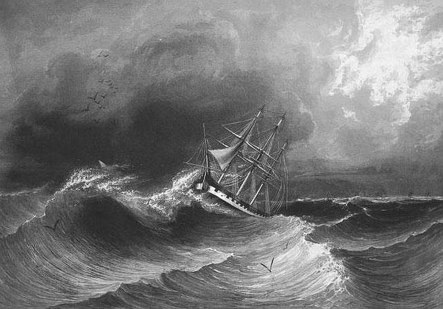 La Favorite. C. Laplace (1793-1875) : la CHINE, dans : Voyage autour du monde sur la Favorite (1830-1832). Et de : Campagne de circumnavigation de la frégate l'Artémise (1837-1840).