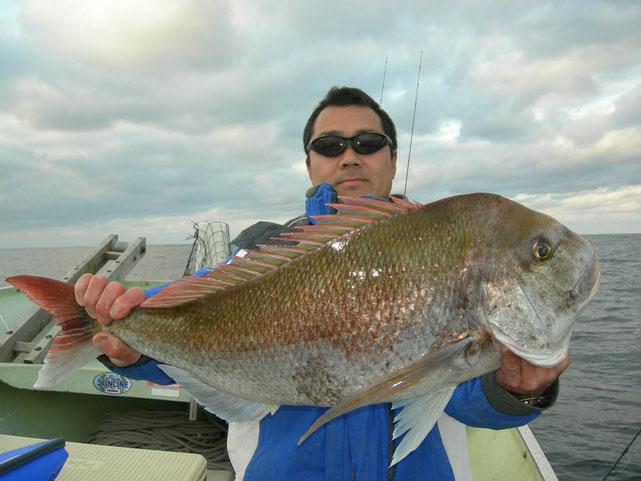 真鯛80cm