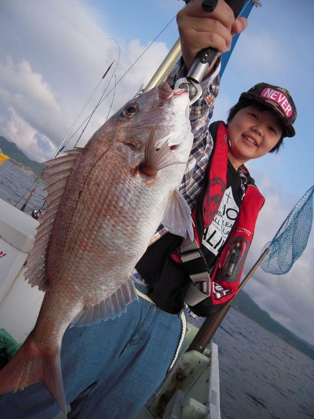 「鯛が釣りたい!」釣れてよかったですね。