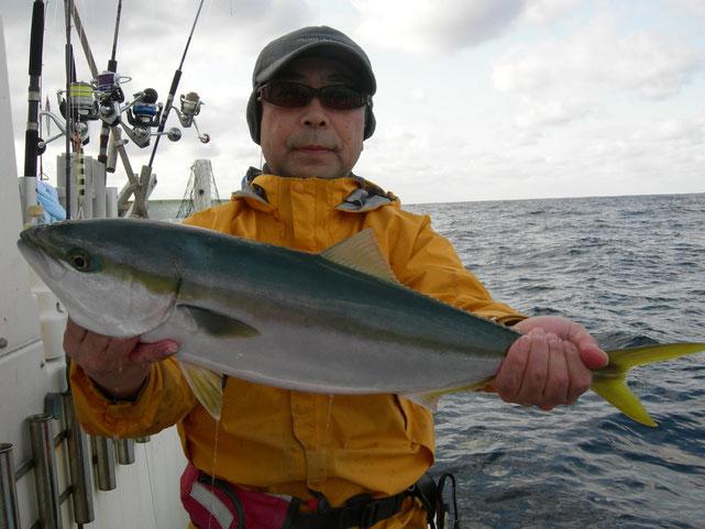 今日のメジロマスターです。たくさん釣ってくれました。