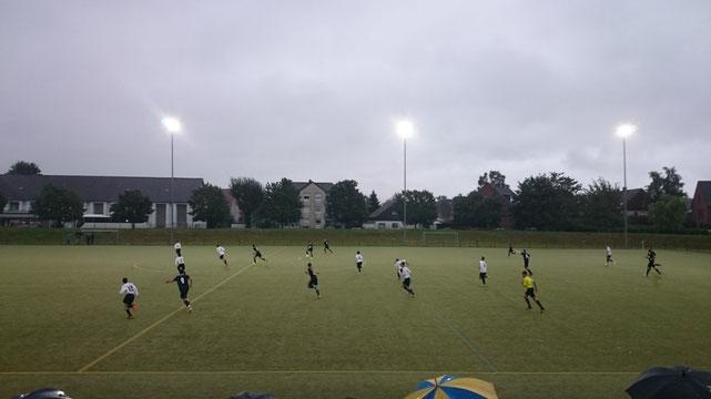 Kreispokalspiel gegen Blau- Gelb Schwerin