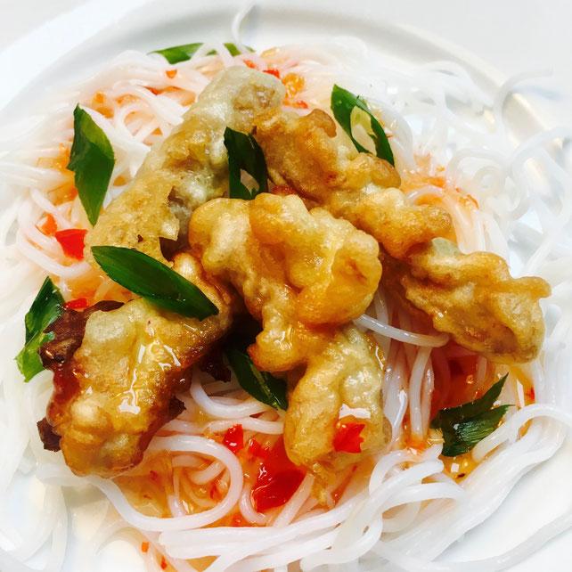 tempura fritering vegetar oumph