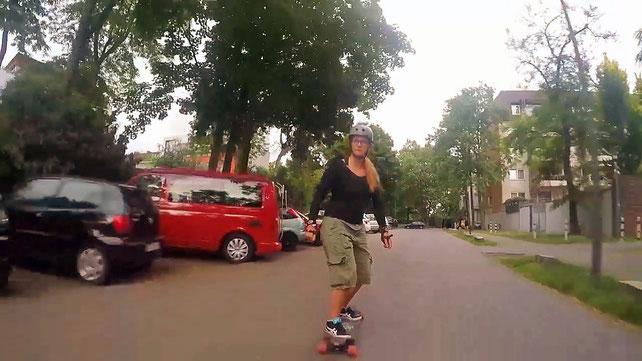 Longboard Longboarding Lenkgummies Skaten Skateboard