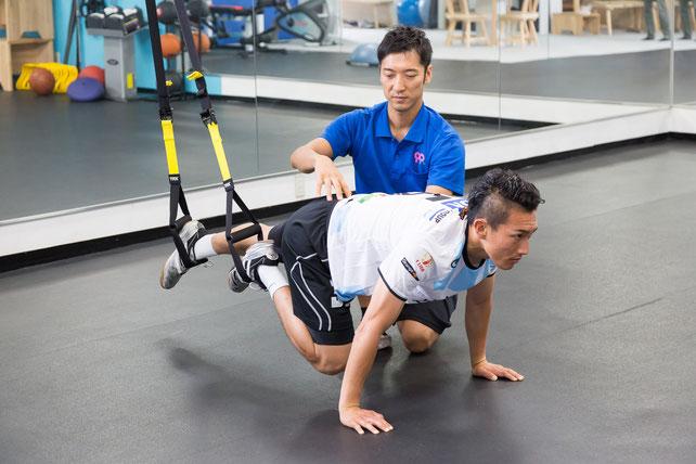 怪我から早期復帰するアスレチックリハビリテーション