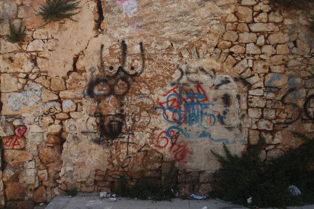 Wandmalerei in Carovingo