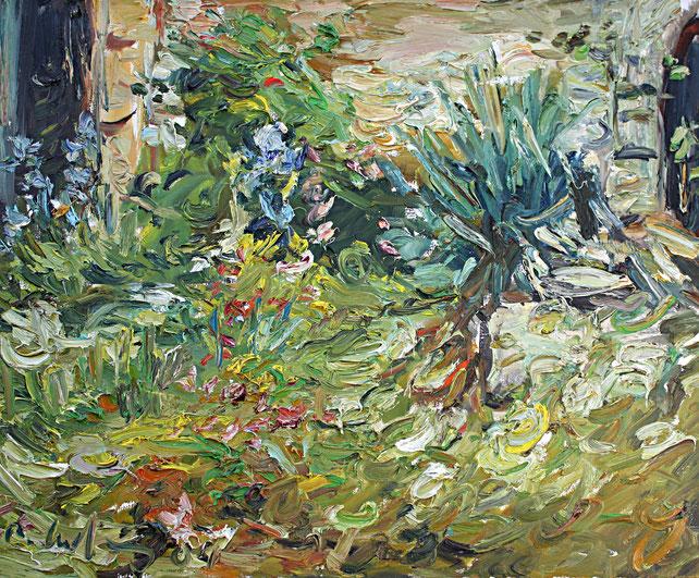 Innenhof Le Fort   2004, Öl auf LW, 46 cm x 55 cm